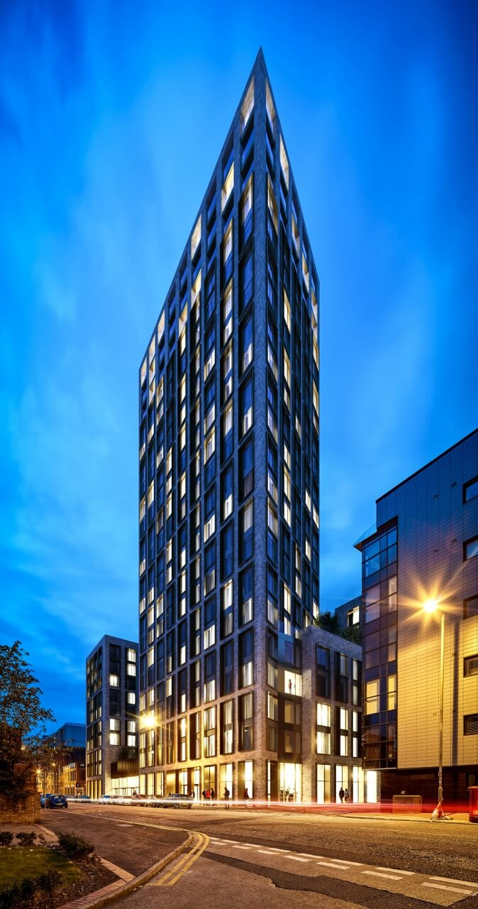 Green light given for £60 million eco-friendly apartments - Anwyl ...